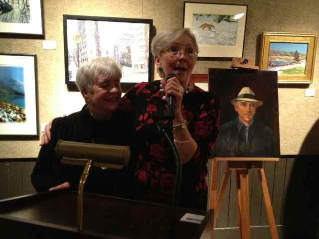 Liz Taffe and Claudia Seymour
