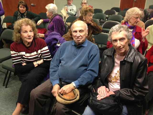 Barbara & Harvey Hellering with Virginia Aschmoneit at Mitch Kahn's concert in Mattituck.