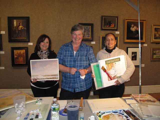 Bonnie Cotnoir, Sharon Way-Howard and Denise Rolland