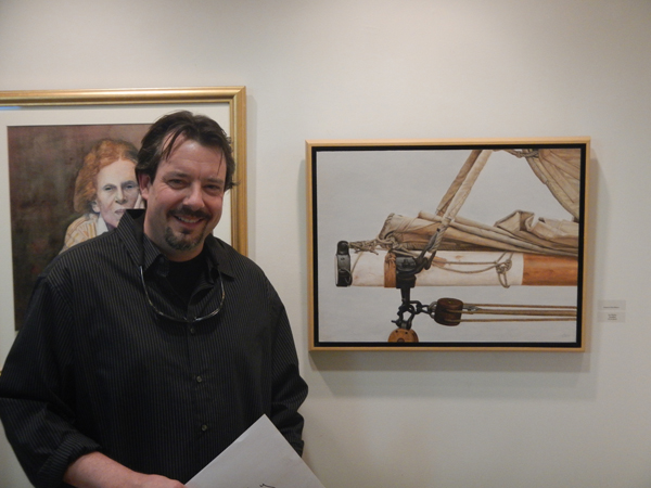 Jim Molloy (Steadfast) • Art League of LI (Award of Excellence)