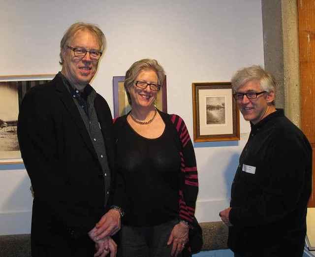 Charlie Yoder, Charlene Keogh & Bob Pillsbury (Monmouth Museum)