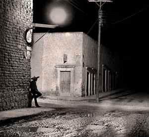 Street Scene near San Miguel, Mexico