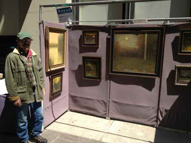 Joe Grieco at the Spring 2013 Washington Square Outdoor Art Exhibit