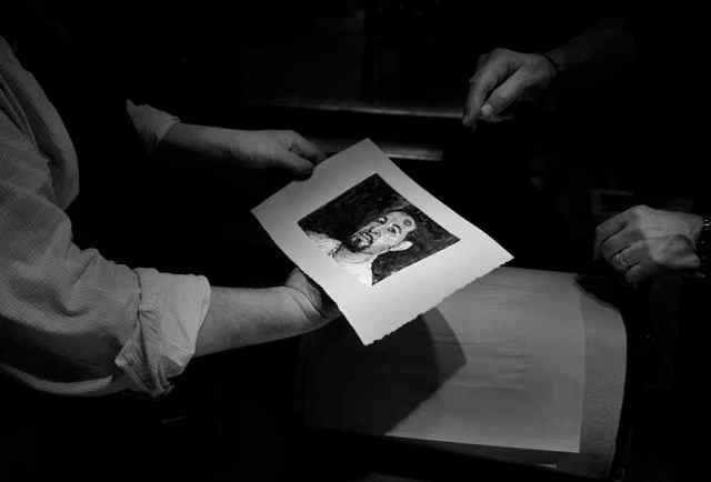 SCNY'13-Nov Monotype Party Pix - 37