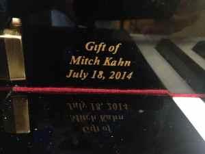 SCNY'14-Gift of Mitch Kahn - 1